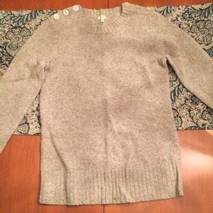 Lambs Wool Crew Neck Sweater